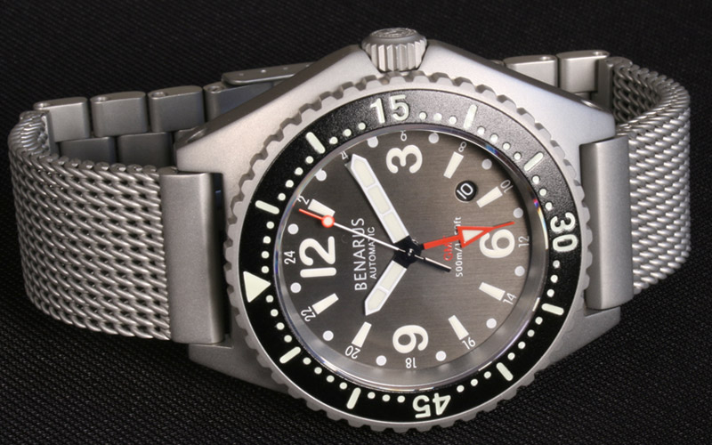 Benarus GMT Worldiver