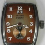 Le Temps brown dial