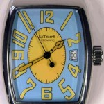 Le Temps light blue dial