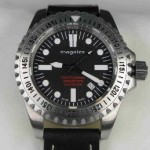 Magalex Divers 2000 meters white indexes