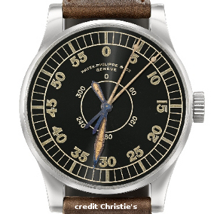 Christie's 55 mm Patek from 1936