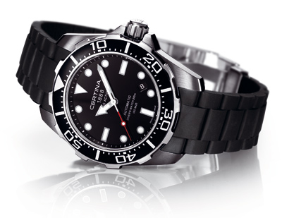 Certina DS Action Diver - automatic, steel~rubber
