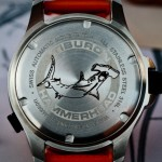 Tiburon Watch HammerHead case back