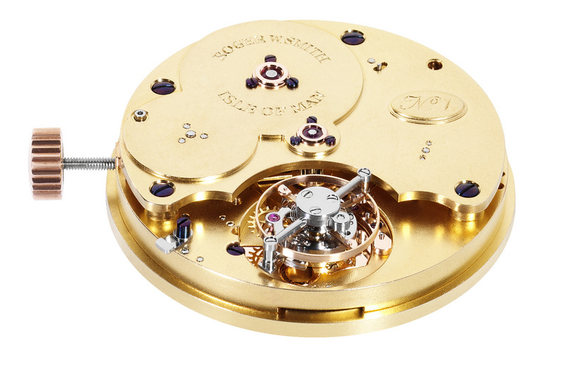 Roger W. Smith, No.1 Unique commision Grand Date flying tourbillon. Reproduced under Fair Use