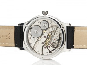 Barrington Griffiths, case back of a Modern Classic watch